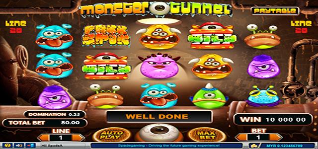 Mengulas Permainan Monster Tunnel Slot